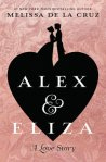 Alex & Eliza cover: a black heart with the silhouette of Alex & Eliza kissing on the top