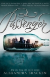 Passenger book cover: a city in a bottle and an age-of-sail ship reflected in the water beneath
