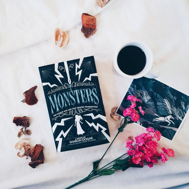 January Book Box Club book - Monsters, by Sharon Dogar